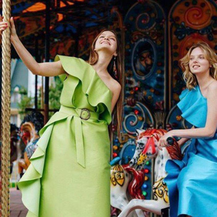 Съемка для бренда женской одежды Shatu